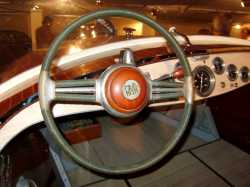 Corsaro steering wheel