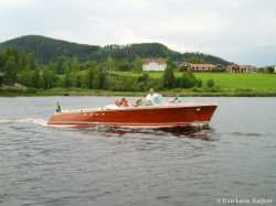 "Tritone #180, ""Claudia"". First boat built in 1962. In Sweden since many years and often seen at meetings around."